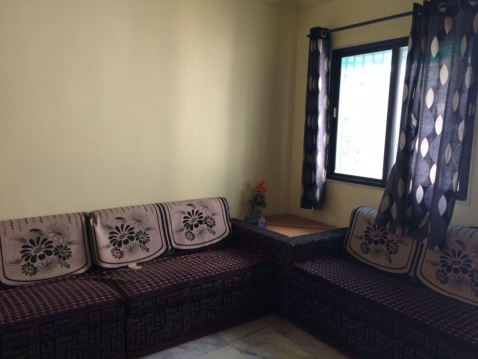 The apartment is fully furnished with a big sofa, modular kitchen, bed, mattress, ac, ducting cooler, sperate bathroom and washroom,