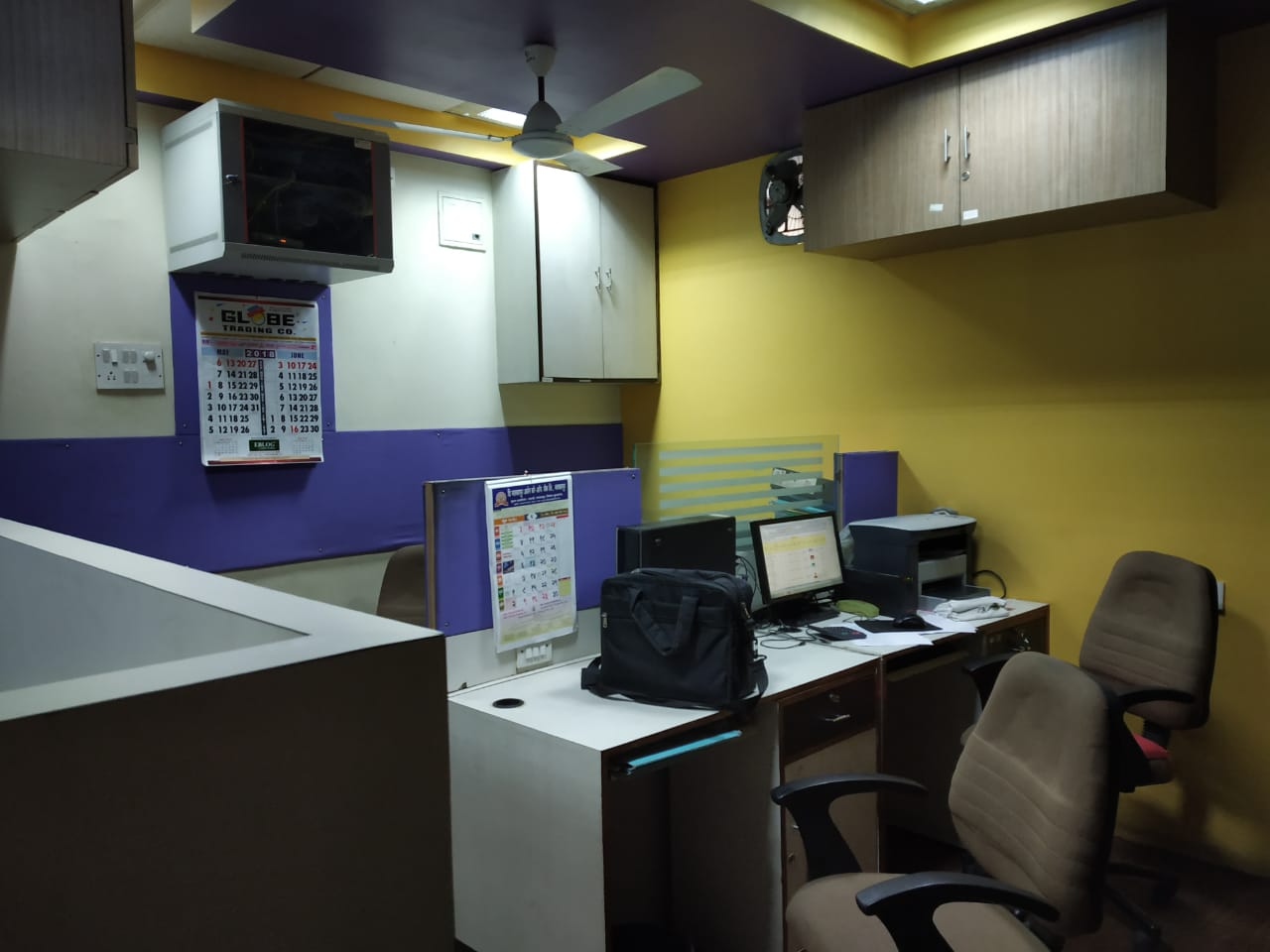 200sqft full furnished for office used as a per day in ramdaspeth