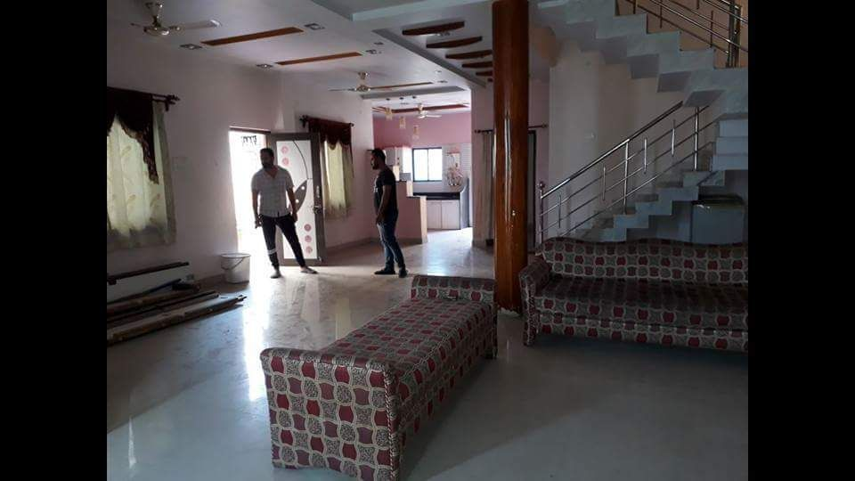furnished 3bhk independent bungalow rent 28000 in manish nagar
