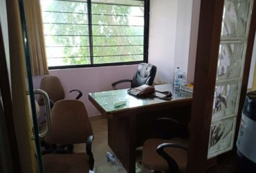 Office space available for rent  with Ac, 2cabines at mate square.