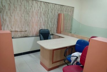 fully furnished office 1500sqft. space available with guest room at shivaji nagar