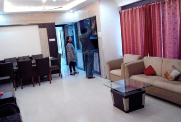 This fully furnished 3 BHK apartment with 3 bathrooms in LIC Square,  civil line