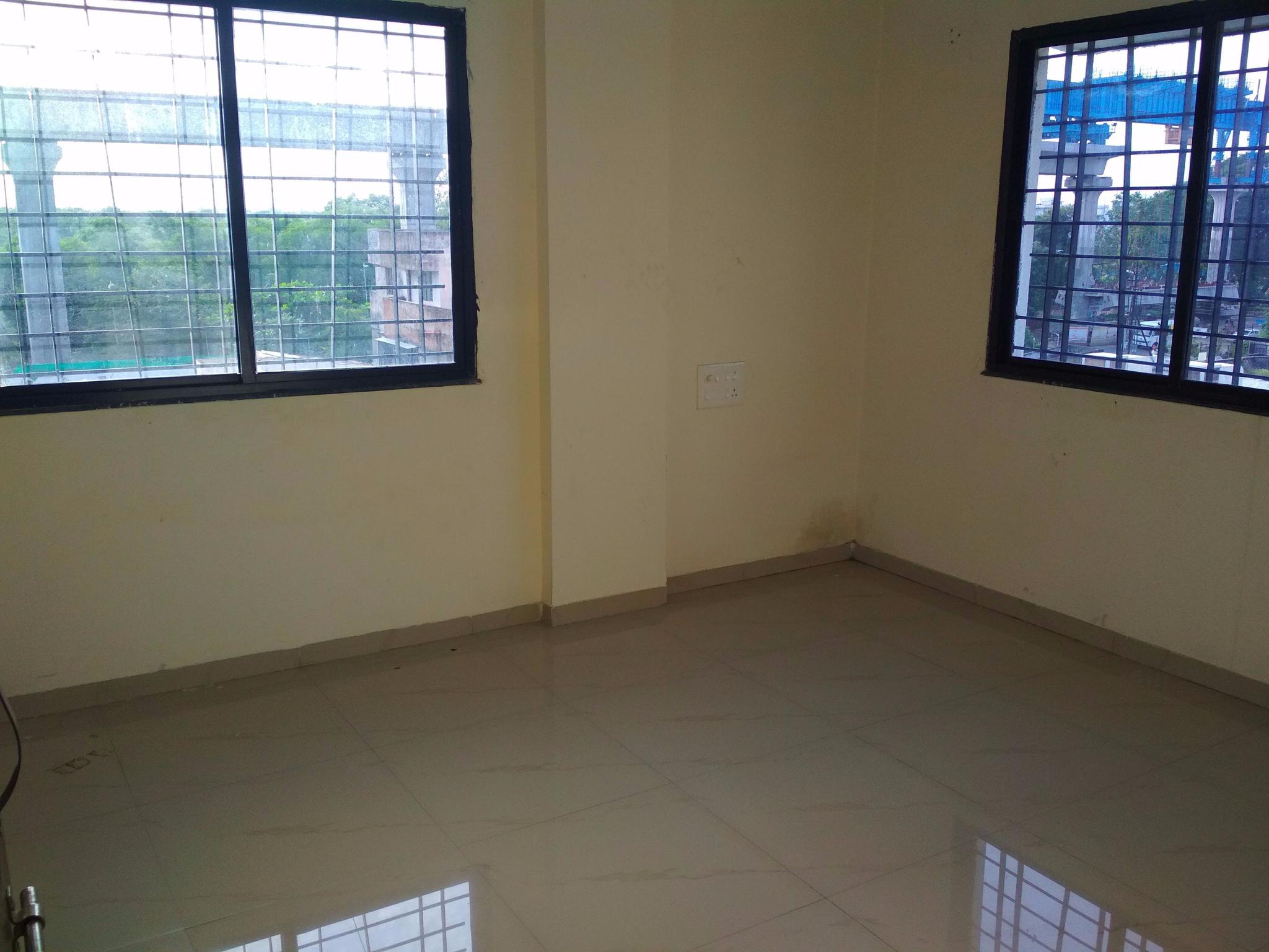 with wardrobe ,moudlar kitchen 2bhk semifurnished flat for rent 16000 at shivaji nagar
