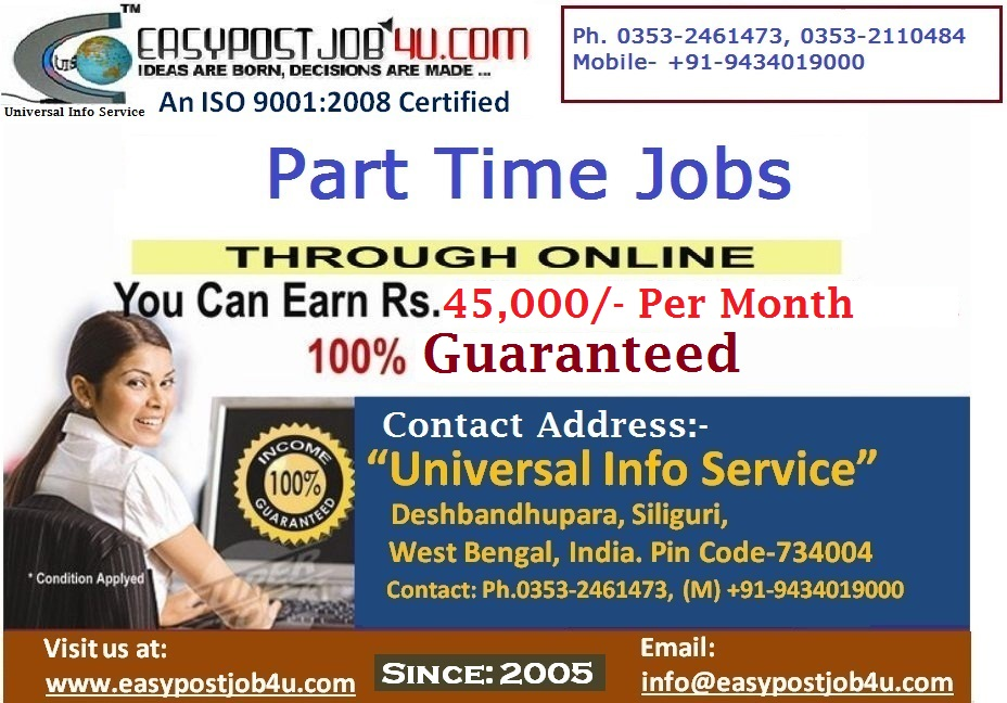 Earn Healthy Income Through Online Job.