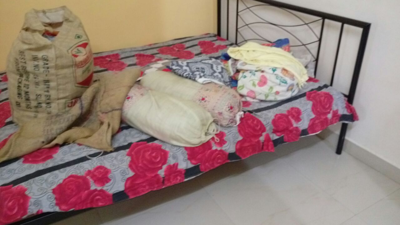 Modern construction is done in this newly 3bhk semifurnished posh flat