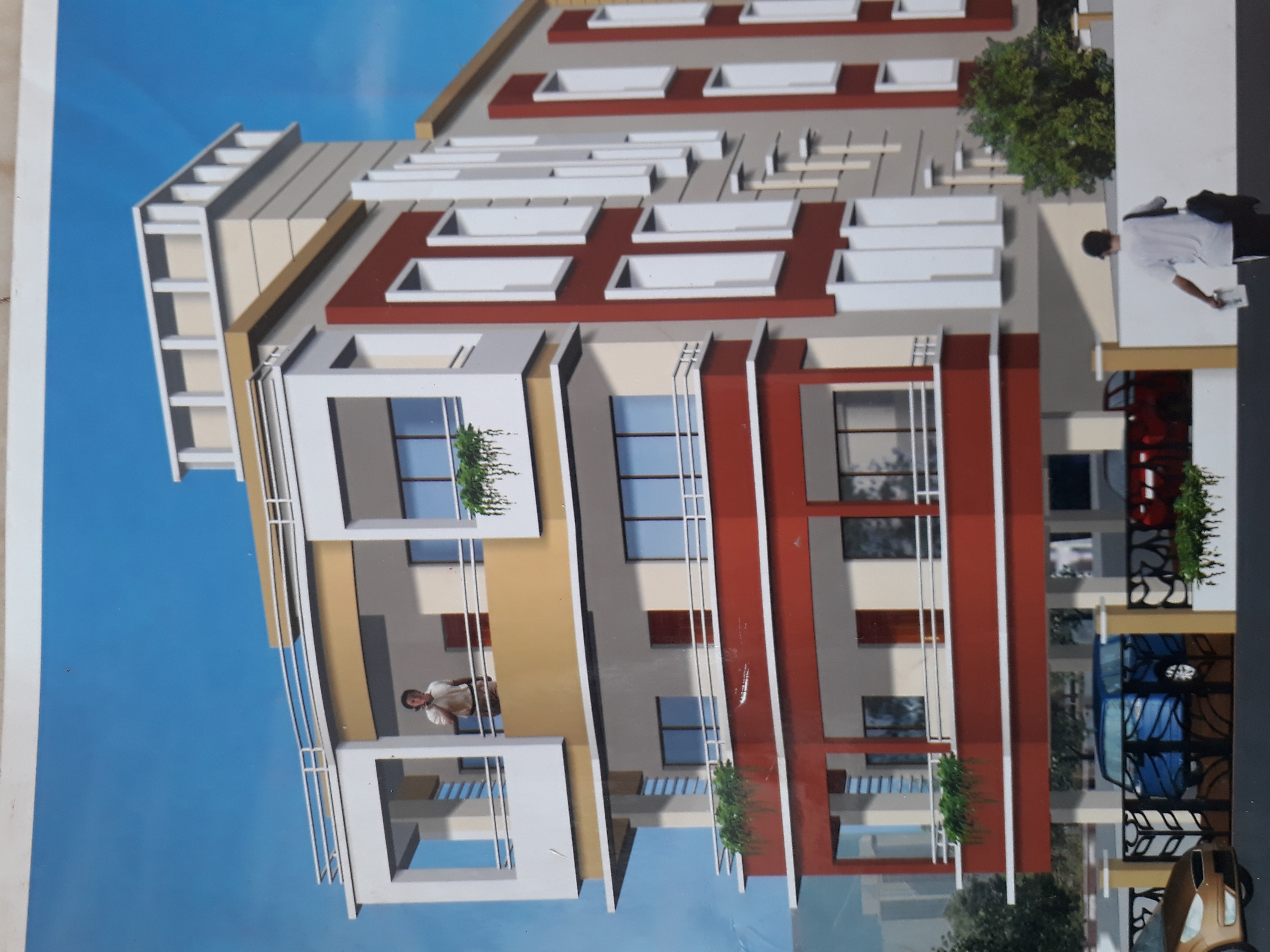 3bhk luxurious flat for rent