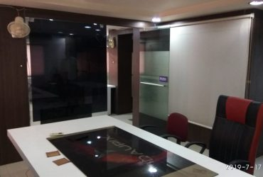 fully furnished office available on rent in chatrapati square.