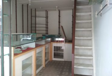150sqft. double height shop available for rent in nelco society, trimurti nagar