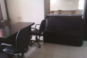 road touch Luxurius office space with 2Cabin , Ac, furnished with Table chair, at Abhyankar nagar