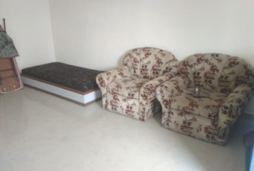 A 2 BHK flat for rent in Deo Nagar, Nagpur is available.