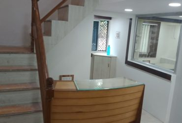 Road touch 1700 sqft  semi furnished,  office space available on rent at Abhyankar nagar