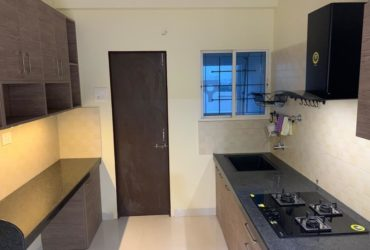 Excellent new furnished 2bhk flat with all amenities available in there at trimurti nagar