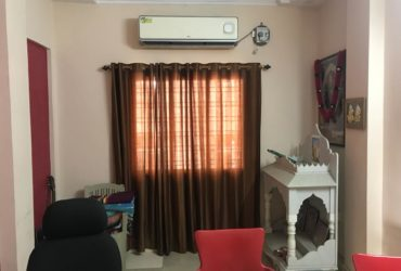 2bhk full furnished house for rent in nelco society, trimurti nagar