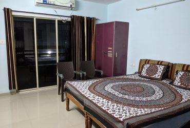 fully furnished 3bhk flat with all amenities at  sneh nagar