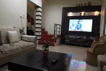 Independent 3bhk fully furnished house for rent at Sonegaon