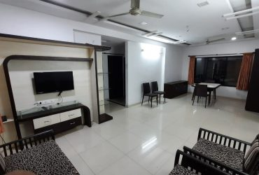 well furnished 3bhk flat available for rent  at nelco society, trimurti nagar