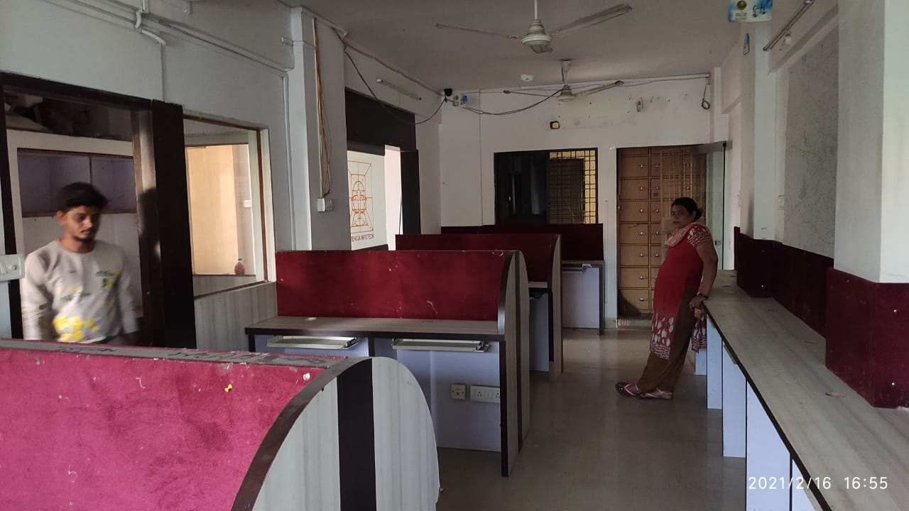 Main road touch furnished office space available for rent at IT Park, Trimurti Nagar