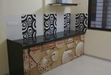 2bhk semi furnished  flat for rent at giripeth