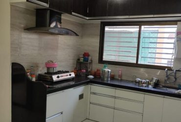 3bhk semi furnished  flat for sale in rahate colony