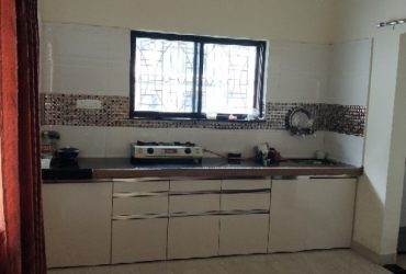 1bhk semi furnished house for rent sonegaon